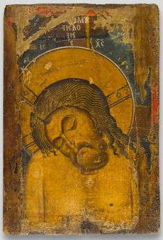 This is my favorite piece from the Heaven and Earth: art of Byzantium exhibit. Man of Sorrows