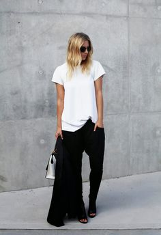 love everything about this.... Hair, sunglasses, shirt, pants... I want it all.