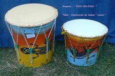 "Alternativa Verde |   Construí tus propios instrumentos musicales con ""basura"" Teaching Music, Drums, Instruments, Diy, Drum, World, Homemade Musical Instruments, Toys, Manualidades"