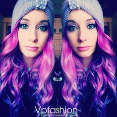 The Hottest Purple Hair Dye Colors and Ideas