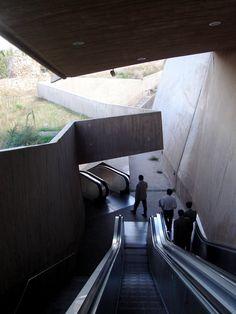 La Granja escalators