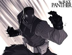 Another Black Panther by chriscopeland.deviantart.com on @deviantART