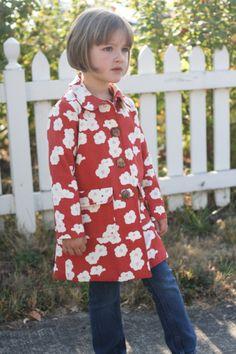 beautiful fall jacket (burda 9501) // probably actually