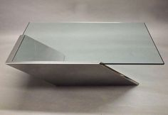 Vintage Coffee Table Designed by J. Wade Beam for Brueton, circa 1970