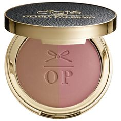 Bluff Point - bronze/dusty pink---Shop Ciaté London's Olivia Palermo x Ciaté London The Cheekbone Cheat Blusher Bronzer Duo at Sephora. This blusher-bronzer duo adds a flush of color and defines and sculpts cheeks.