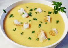 Fokhagymás zellerkrémleves | Törzsök Éva receptje - Cookpad receptek Cheeseburger Chowder, Soup, Soups