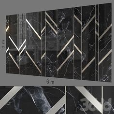 models: Other decorative objects - Decorative wall Feature Wall Design, Wall Panel Design, Floor Design, Contemporary Interior Design, Modern Bathroom Design, Marble Wall, Wall Tiles, Modern Wall Paneling, Panelling