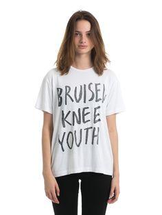 Deadwood - Womens Bruised Knee T-Shirt