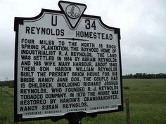 Reynolds_Homestead_historic_marker_Patrick_County_Virginia.JPG (4000×3000)