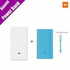 Original xiaomi mi banco de la energía 20000 mah nuevo banco móvil portátil mi cargador 20000 mah dual usb para el teléfono, netbook