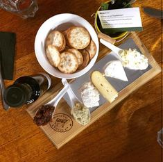 Cheese Tasting Menu – Hunter Valley Cheese Factory Cheese Tasting, Tasting Menu, Tasting Room, Cheese Factory, Crackers, Easter, Life, Food, Pretzels