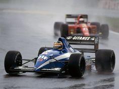 Thierry Boutsen (Equipe Ligier Gitanes), Ligier JS35/B - Lamborghini 3512 3.5 V12, 1991
