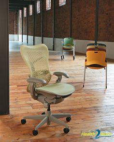 Herman Miller Mirra 2 ergonomische bureaustoel met fraai design
