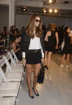 Olivia Palermo Photos - Rebecca Taylor - Front Row - Mercedes-Benz Fashion Week Spring 2014 - Zimbio
