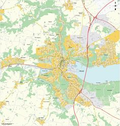 Vejle city center map Maps Pinterest Vejle and City