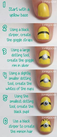 minions step by step