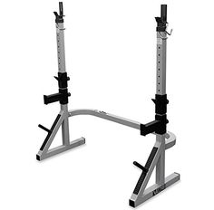 Work out your hamstrings, quadriceps, and other muscles with the help of this combo squat/rack bench from Valor Fitness. This gym machine features upright posts and a storage peg, offering you plenty of room and convenient plate storage. Bench Press Rack, Catch Bar, Home Treadmill, Plate Storage, Storage Racks, Squat Stands, Fitness Stores, Big Muscles, Strength Workout