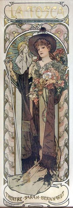 La Tosca (Alphonse Mucha)