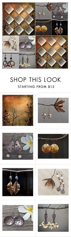 """Handmade earrings"" by flower-of-paradise ❤ liked on Polyvore featuring integrityTT and EtsySpecialT"