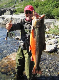 Frank Bluch recently in his annual trip to Canada where he fishes with local guide Mike Harrison when fishing on Tree River , which...