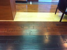 Beautiful Engineered wood installed by Urban Floor in our Torrance, Ca showroom