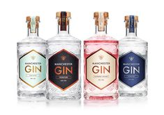 A contemporary citrus Gin using 12 botanicals including Orange, Lemon and the Northern favourites Dandelion & Burdock Root Gin Bottles, Alcohol Bottles, Vodka Bottle, Botanicals For Gin, Manchester Gin, Dandelion And Burdock, Red Wine Benefits, Champagne, Liqueurs