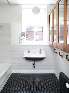 Kohler Brockway Sink in the Cottage Bathroom!