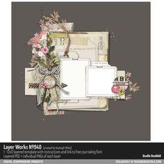 Layer Works No. 940- Studio Double-D Templates- LT485347- DesignerDigitals