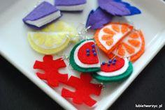 Some handmade earrings of a #watermelon, #book, #puzzle, #orange, #lemon or even #feathers :)  #instrukcja #instruction #handmade #rekodzielo #DIY #handcraft #craft #lubietworzyc #howto #jakzrobic #instrucción #artesania #filc #felt #fieltro #kolczyk   #kolczyki  #earrings #style #styl #pendiente   #arete   #耳环  #耳環