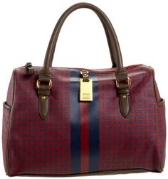 Tommy Hilfiger - Women's Coated Classics Satchel via @pinterest.