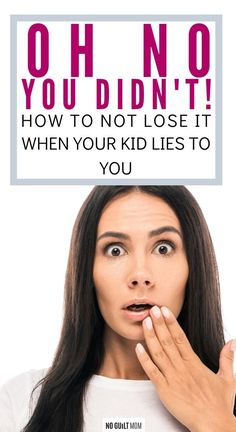 What should you do when your kid lies to you? These 4 tips will help you not lose it when your kid lies and help stop the lying. Parenting Teens, Parenting Advice, Chore Chart Kids, Chore Charts, Kids Lying, Raising Daughters, I Have Spoken, Toddler Schedule, Toddler Discipline