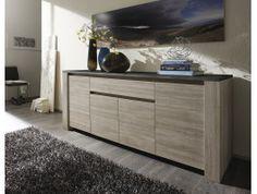 bahut design rouge eva | meuble de rangement | pinterest - Meuble Bahut Design
