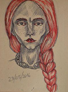 Creativity of Fià: Schizzo viso...
