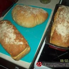Σπιτικό ψωμί τσιαπάτα συνταγή από skoubitsa - Cookpad Bread, Baking, Food, Brot, Bakken, Essen, Meals, Breads, Backen