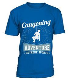 Canyoning Extreme Sports TShirt