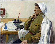 Левичев Юрий Иванович (Россия, 1929- 2004) «Военврач» 1964