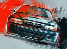Piotr Krzyczkowski I Poland BMW m3 digital sketch - http://ift.tt/1WswekZ
