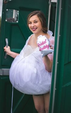 Are you having an outdoor wedding? Will you have to use Porta-potties or small bathrooms? Bridal Buddy has got you covered! Make that trip to the toilet super easy and clean when Bridal Buddy holds up your gown in those tight spots! Bridal Tips, Wedding Tips, Wedding Day, Rustic Wedding, Wedding Planning, Dream Wedding, Bride Lingerie, Wedding Lingerie, Wedding Undergarments