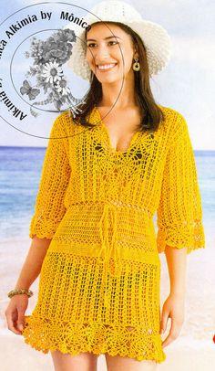 Alkimia: Salida Dispone de praia de crochê com gráfico