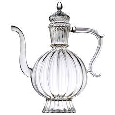 HAPPY KARMA  - Théière en verre soufflé - 7 tasses