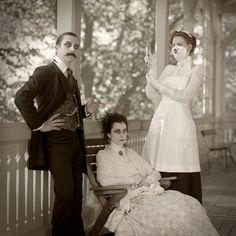Sanatorium by Atelieri O. Halloween Photography, Halloween Photos, Vintage Love, 19th Century, The Creator, Fancy, Photoshoot, Adventure, Couple Photos