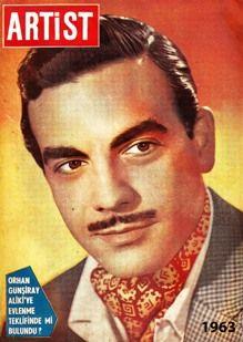 Ayhan Işık, Artist dergisi kapağı. 1963.