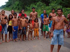 The apurinã indians live only away from the and have mixed feelings about the repaving of the road. Mixed Feelings, People Of The World, Bikinis, Swimwear, Fashion, Bathing Suits, Moda, Swimsuits, Fashion Styles
