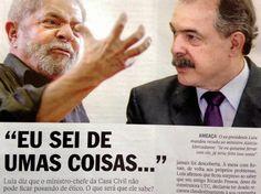PROF. CORREIA NO COMANDO: LULA X MERCADANTE: A disputa pela boca.