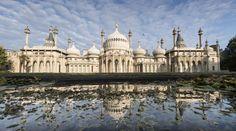 Brighton, England. An exotic royal palace