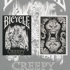Bicycle Creepy Deck by Collectable Playing Cards - Trick 10.95 at www.crossroad-magic.com