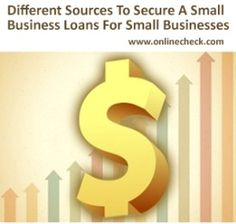 Small Business Loans approval in 1 hour for small businesses with no collateral and easy repayment terms. Get your business the funding it needs with small business loans. #smallbusinessloans #onlinecheck www.onlinecheck.com