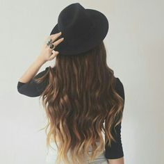 brown hair with blonde tips