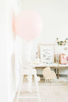 Darling Today You are One Birthday Decor Party Decorations Baby Girl 1st Birthday, Blue Birthday, Birthday Bash, First Birthday Parties, Birthday Party Decorations, First Birthdays, Birthday Ideas, Nursery Inspiration, Party Time