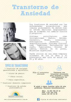 Transtorno de Ansiedad, conoce los síntomas.